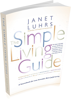 The simple living guide simple living for Minimalist living movement